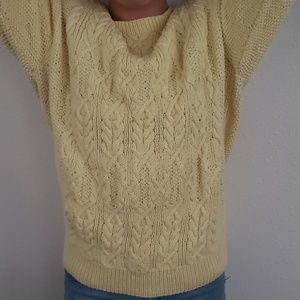 Vintage 80's slouchy sweater